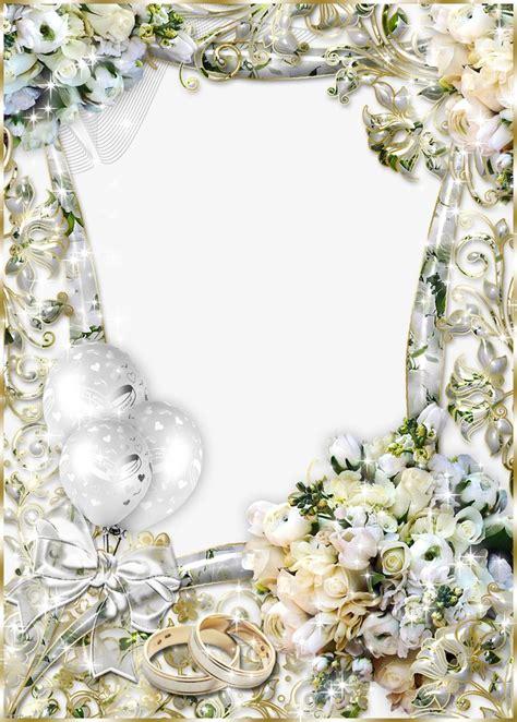 Wedding Album Border by Personalized Wedding Photo Album Frame Transparent