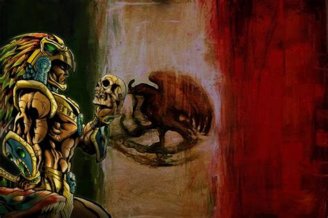 imagenes guerreras aztecas wallpapers guerrero azteca