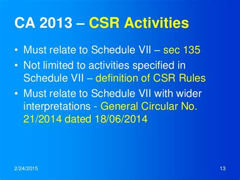 section 135 csr csr in india an overview