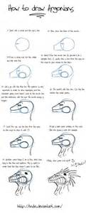 How To Draw A Blueprint How To Draw Argonians Part 1 By Hndz On Deviantart
