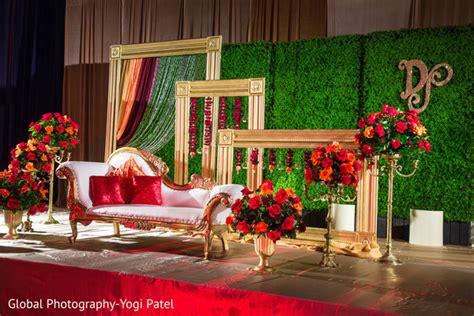 reception d 233 cor photos indoor garden inspired reception space inside weddings refined indian wedding reception stage decor photo 124858