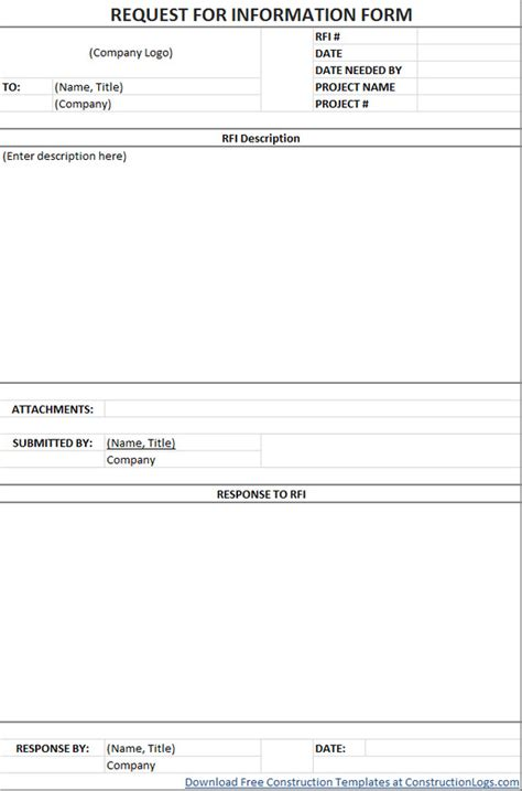rfi template construction invoice template for mac templates resume