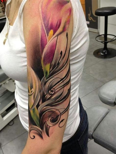 rose and calla lily tattoo 84 best images about ideas on