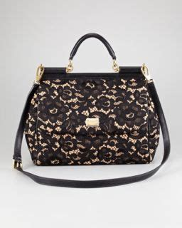 Handbag Find Of The Day Dolce Gabbana Large Satchel by Crochet Snakeskin Miss Sicily Top Handle Bag Purse Handbag