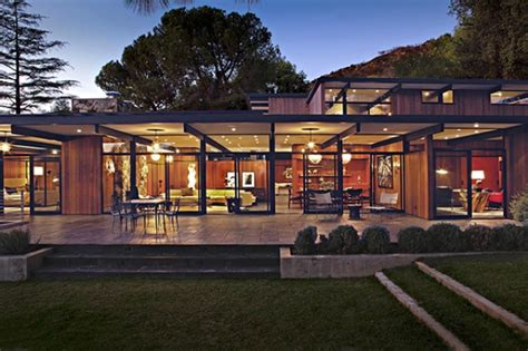 mid century modern house plan mid century house with a modern touch in los angeles