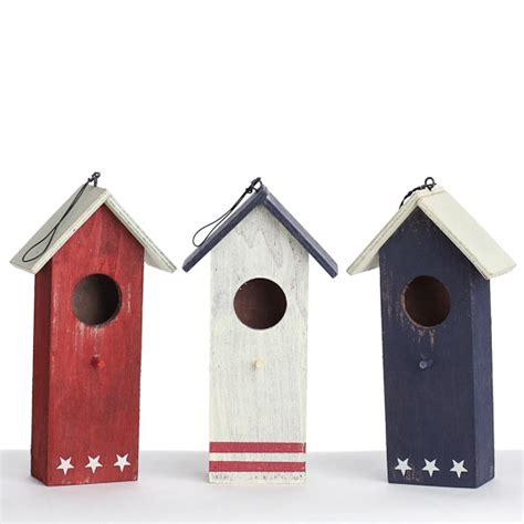 americana wood birdhouses birds butterflies basic