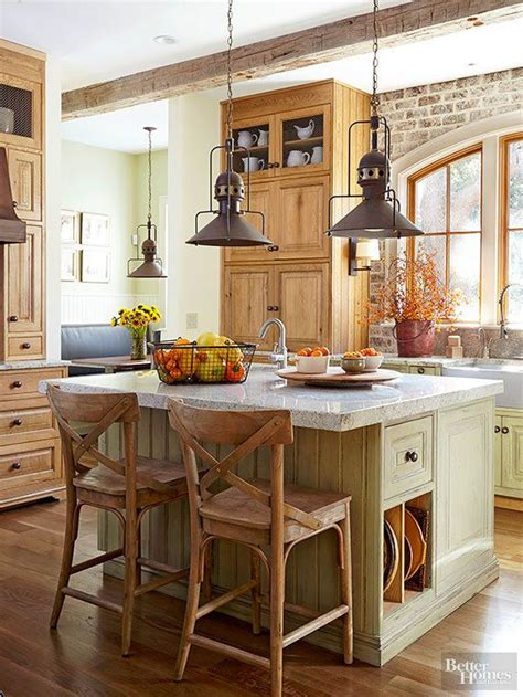 farmhouse kitchen islands best 25 rustic kitchen island ideas on pinterest rustic