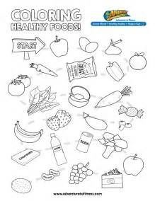 healthy color pictures health coloring pages