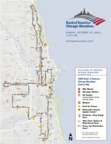 Chicago Marathon Elevation Map by This Weekend Marks The 2010 Edition Of The Chicago