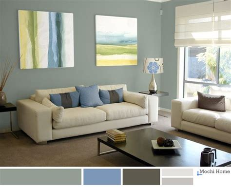 green and blue living room light sage living room wall colour paint pinterest
