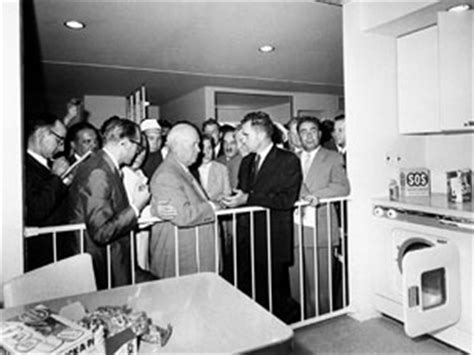 Kitchen Debate In 1959 Nixon Vs Khrushchev In Kitchen Debate July 24 1959