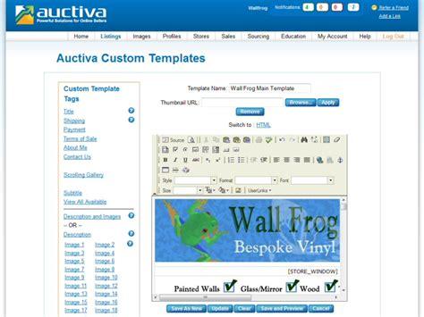 Easierthan Website Design Ebay Shop Design Advice Setup Holding Sites Ebay Stores Auctiva Ebay Templates