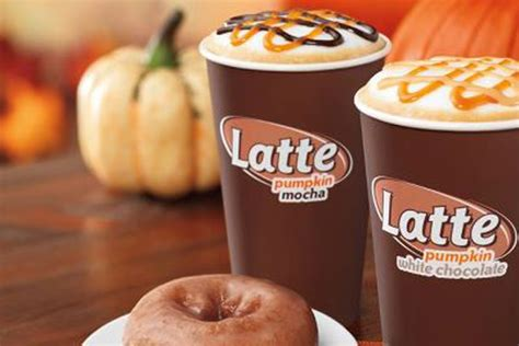 Dunkin Donuts Pumpkin Coffee by Dunkin Donuts Launches Pumpkin White Chocolate Coffee