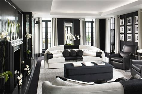 black and white living rooms living room color schemes black white