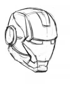 ironman drawing how to draw iron mask techcomix