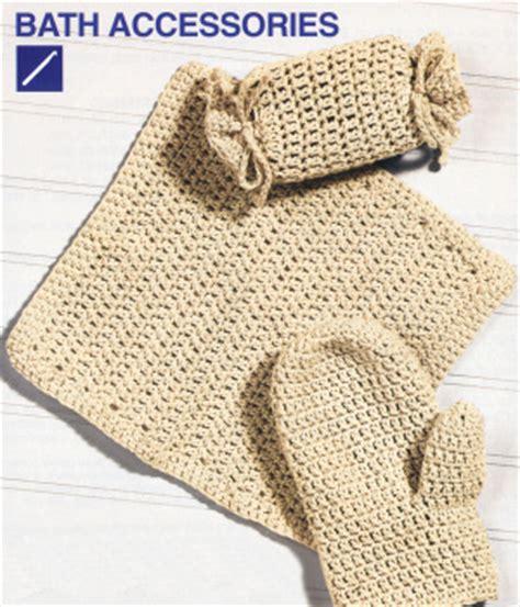 free crochet bathroom patterns bath puppet pattern free patterns