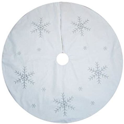 amazon com large white christmas tree skirt decoration