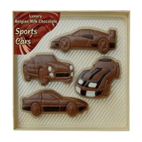 Cocolatte Isport By Co belgian milk chocolate sports cars