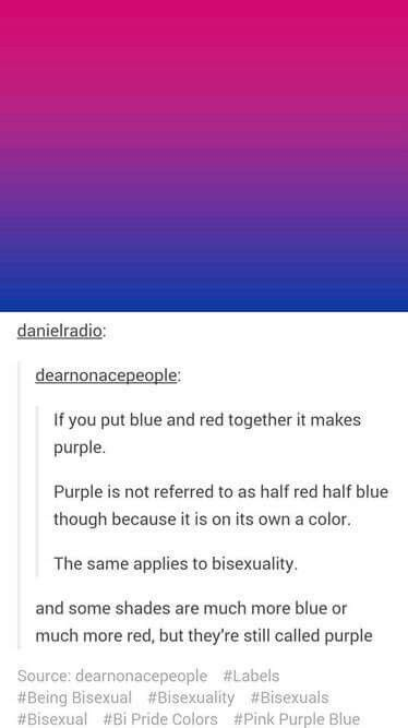 bi colors also somewhat works for pan maybe with all