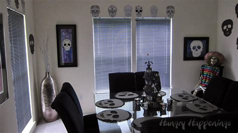 skull themed bedroom day of the dead party fun decorating ideas for dia de