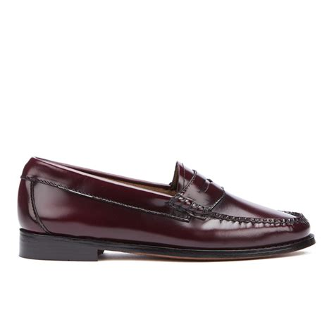 bass loafers uk bass weejuns s leather loafers wine free