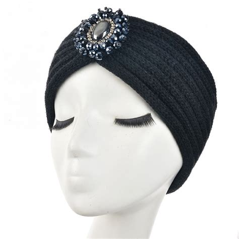 23 colors knitted turban headbands for winter warm fashion wool accessory winter warm