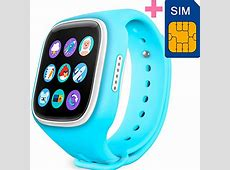 GBD Children Smart Watch Phone for Kids with GPS Tracker ... Fitness Tracker For Kids Amazon