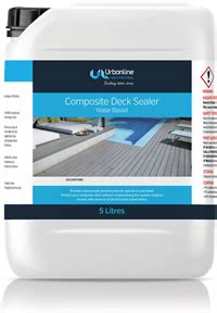 composite deck sealer cleaner urbanline architectural