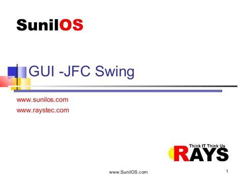 java swing performance java swing jfc