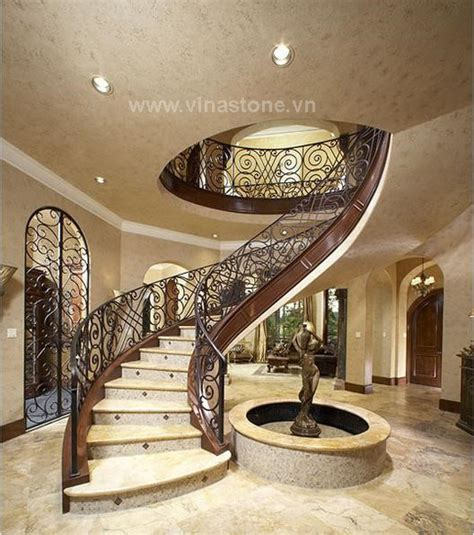 12 glorious mansion staircase designs that are going to natural stone mosaic for staircases vinastone export