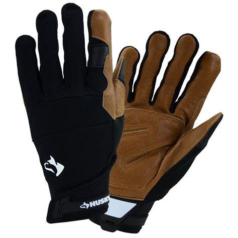 husky x large hi dex leather glove hk86007 xl the home depot