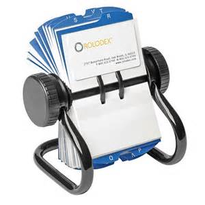 roller deck for business cards rolodex rotary business card file grand