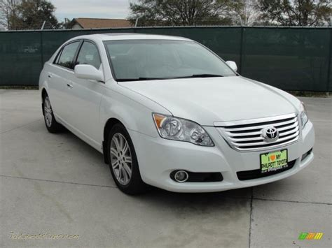 2008 Toyota Avalon 2008 Toyota Avalon Limited In Blizzard White Pearl