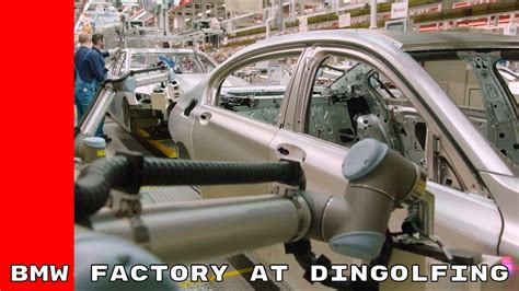 bmw factory robots bmw factory humans robots work together at dingolfing
