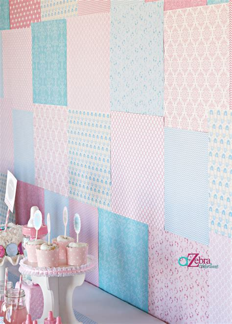 Backdrop Baby Shower by Baby Shower Gender Reveal Ideas Savvy Sassy