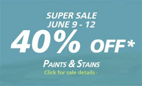 sherwin williams paint sale 2017 sherwin williams super sale 40 off paints stains june 9 12 ottawa deals blog