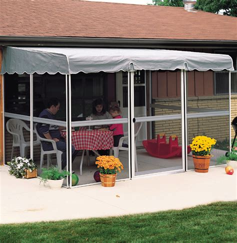 patio mate 7 8 quot x 11 6 quot screened enclosure