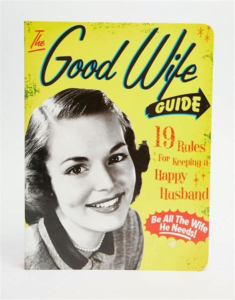good housewife guide books the good wife guide book
