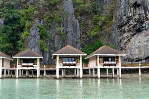 Palawan Cottages by Water Cottages Picture Of El Nido Resorts Lagen Island
