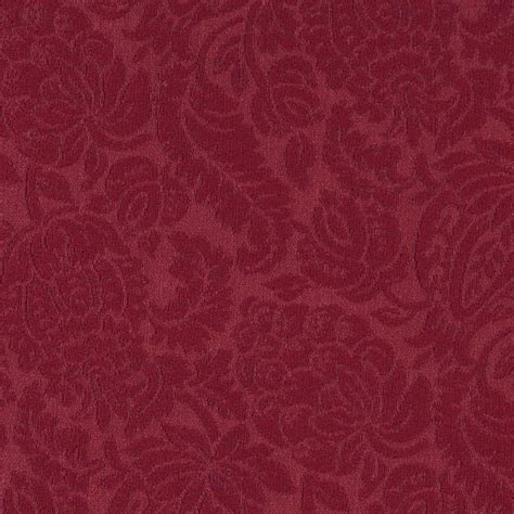 matelasse upholstery fabric red large scale floral woven matelasse upholstery grade