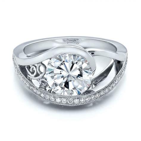 custom engagement ring 100551