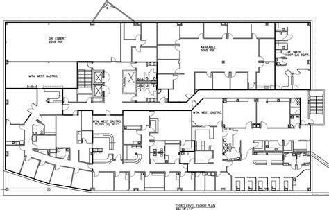 medical center floor plan the boyer company 187 old mill medical center