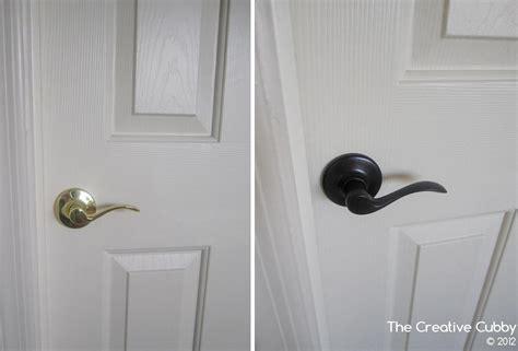 Diy Door Knobs by The Creative Cubby Diy Door Handle Upgrade