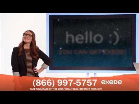 exede commercial actress exede internet reviews 866 997 5757 youtube