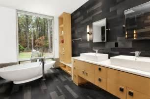 salle de bain bois rev 234 tement de sol et mural imitation bois