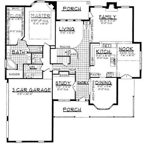 house plan 45 8 62 4 country style house plan 4 beds 3 5 baths 4026 sq ft