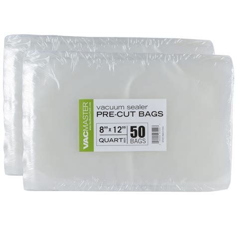 100 quart vacmaster 8x12 food storage vacuum sealer bags