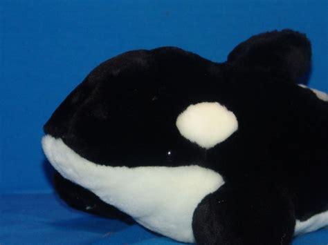 killer whale plush plush seaworld killer whale shamu stuffed animal orlando