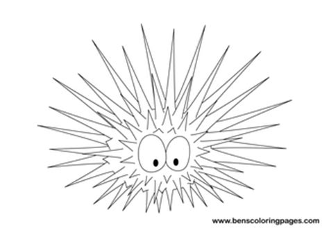 urchin coloring pages coloring pages