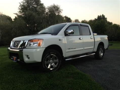 automobile air conditioning service 2012 nissan titan transmission control sell used 2013 nissan titan sv crew cab 4x4 heavy metal chrome package sv value package in